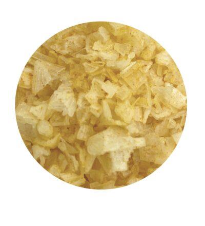 lemon flakes