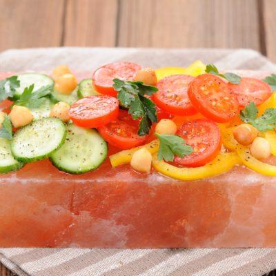 Soolaplaat grillimiseks ja toidu serveerimiseks 20x10x5cm