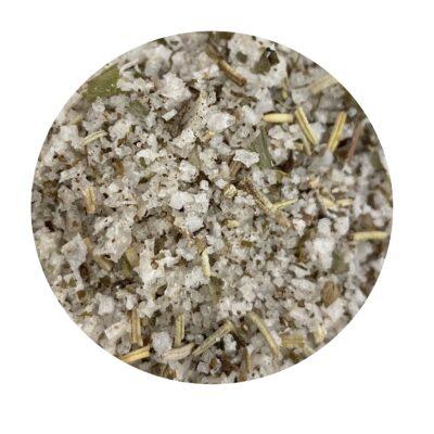 """HERB SALT """"MEAT"""" крупнозернистая португальская соль с травами в эко-упаковке"""