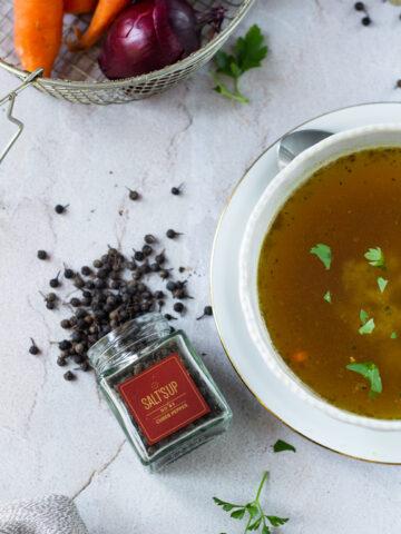 Kubeebapipar supi maitsestamiseks