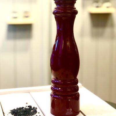 PEUGEOT kvaliteetveski 30cm tumepunane