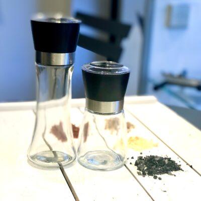 klaasist veski piprale ja soolale 180ml